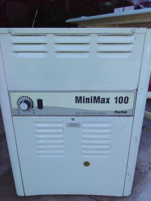 Minimax 100 pool heater propane operated and natural gas for Sale in Harpers Ferry, WV