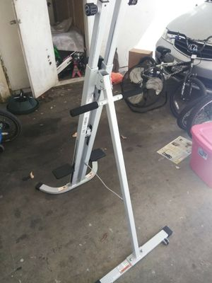 Wesco exsersise climbing machine brand new from Walmart my wife don't use it it cost me 120 but I'm selling it for 65 half price for Sale in San Jose, CA