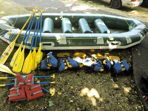14 ft. Self Bailing Whitewater Raft Package for Sale in Portland, OR