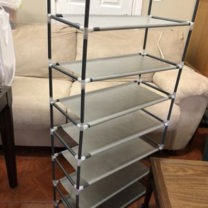 Shoe Rack- 7 Tiers Shoe Rack Organizer for Sale in Houston, TX
