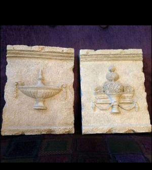 Set of 2 Grecian Decorative Plaques for Sale in La Vergne, TN