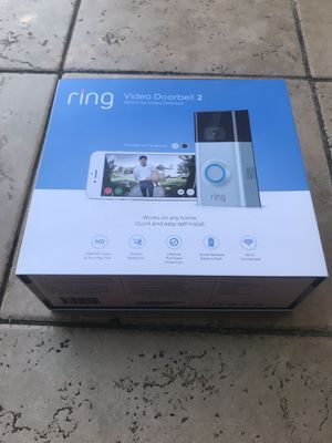 RING DOORBELL SYSTEM 2 NEW for Sale in Sunnyvale, CA
