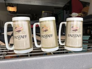 Antique - Authentic Falstaff Mugs for Sale in San Jose, CA
