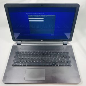 HP pavilion 17 1.8GHz AMD processor Beats by Dre audio laptop notebook 500GB 4GB ram Windows for Sale in Tamarac, FL