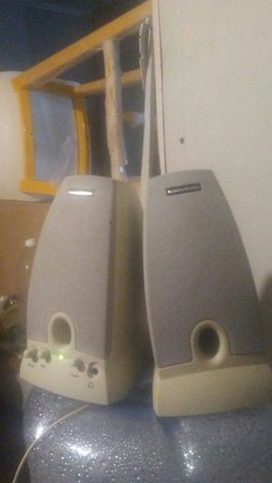 Harmon Kardon - HK195 Computer Speakers w/ OEM Power Supply for Sale in Dallas, TX