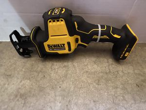 DEWALT ATOMIC 20-Volt MAX Brushless Compact Reciprocating Saw (Tool-Only) for Sale in Bakersfield, CA