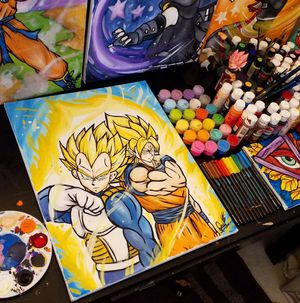 Vegeta & Goku , Saiyan Pride! By Quil - Dragonball Z for Sale in Tracy, CA