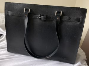 Jack Georges leather bag purse with laptop holder for Sale in Somerville, MA