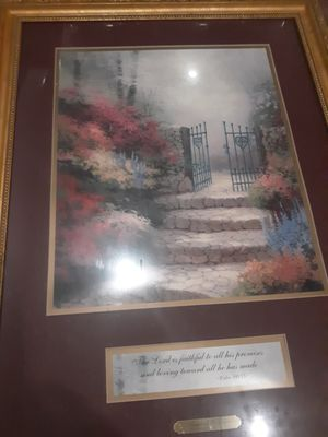 Thomas Kinkade Garden of Promise Print for Sale in Chicago, IL