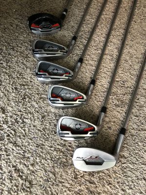 Left handed Wilson profile golf clubs for Sale in West Valley City, UT