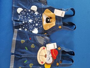 Brand New w/Tags KIDS 18 mo. Denim Romper/Onesie with Adjustable straps for Sale in Gilbert, AZ