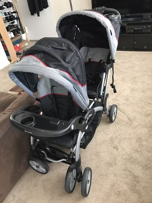 Double stroller for Sale in Silver Spring, MD