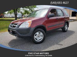 2002 Honda CR-V for Sale in Fredericksburg, VA