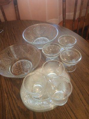 Sandwich pattern glass for Sale in Brandon, MS