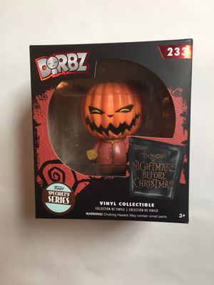 New! Funko Dorbz nightmare before Christmas Pumpkin King for Sale in Austin, TX