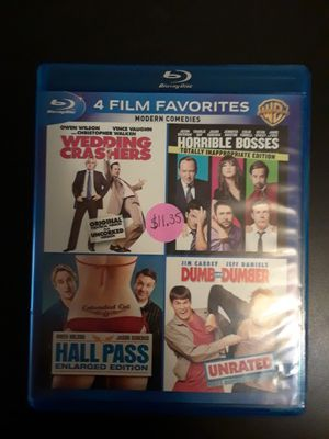 Wedding Crashers, Horrible Bosses, Hall Pass, Dumb & Dumber for Sale in Charlotte, NC