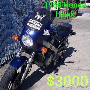 1988 honda hawk 647gt for Sale in Lodi, CA