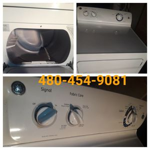 Ge Dryer for sale I also sell washers appliance repair n sells valley wide for Sale in Glendale, AZ