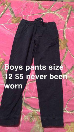 Boys size 12 pants never been worn now $4 for Sale in Leeds, AL