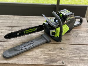 Greenworks PRO 16-inch 80 volt Brushless Chainsaw for Sale in Ocoee, FL