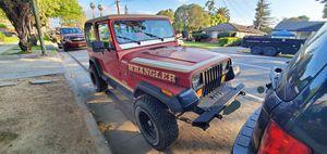 88 Jeep Wrangler YJ for Sale in San Jose, CA
