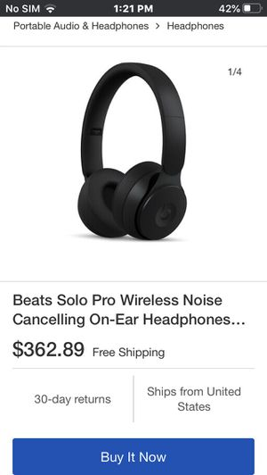 BEATS SOLO PRO for Sale in Tampa, FL