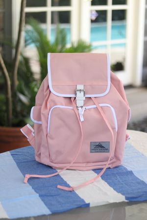 High Sierra Elly Backpack NWT Sand Pink White Laptop TECH SPOT Tablet Sleeve New for Sale in Los Angeles, CA