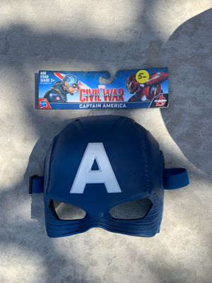 Captain America face mask (4 total) for Sale in Costa Mesa, CA