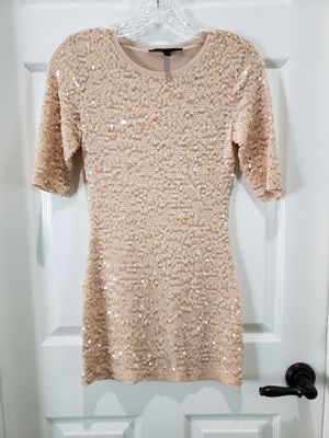 BCBG Blush Pink Sequin Dress XS for Sale in Riverside, CA