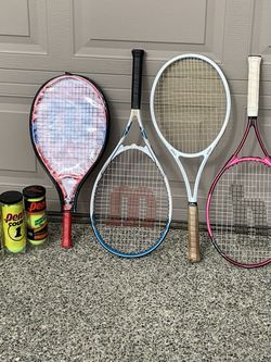 4 Tennis Rackets for Sale in Lynnwood,  WA