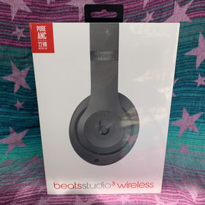 Studio Beats 3 wireless black BRAND NEW SEALED for Sale in Sterling Heights, MI