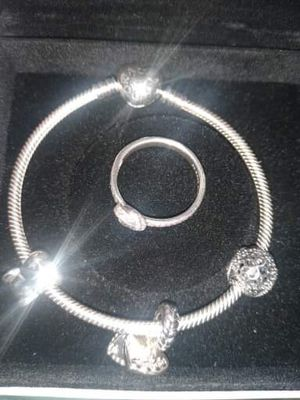 Pandoraaaa Ring and Bracelet !!! for Sale in West Allis, WI