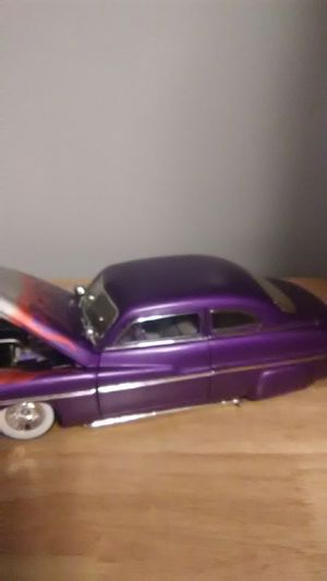 Ertl 1947 Mercury 1:18 die-cast car low rider with flames for Sale in Silver Spring, MD