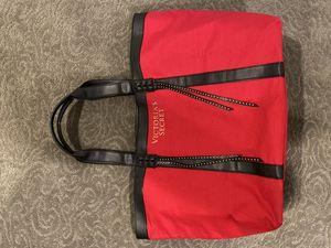 Victoria's Secret red tote bag for Sale in Las Vegas, NV