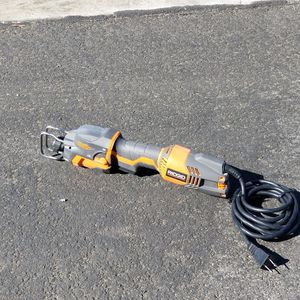Used Ridgid Hand Held Sawzall for Sale in Upland, CA