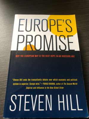 Europe's Promise for Sale in Washington, DC
