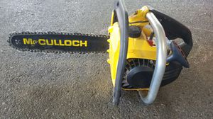 McCulloch Mac 120 Chainsaw for Sale in Reading, PA