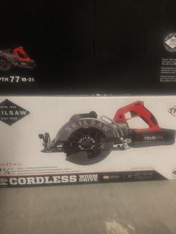 """Brand New 7-1/4"""" Cordless Worm Drive Skilsaw for Sale in Las Vegas,  NV"""