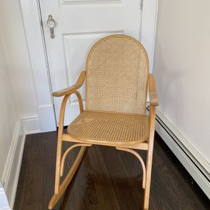 Boho Bentwood & Cane Rocking Chair for Sale in Ronkonkoma, NY