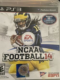 NCAA 14 PS3 for Sale in Wayne,  IL