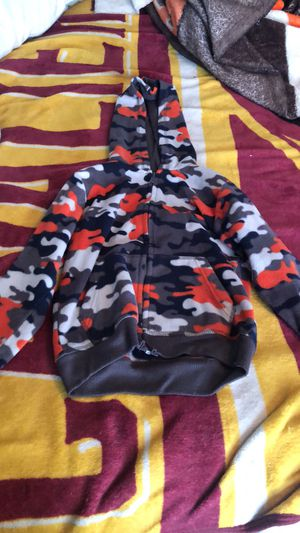 Boys camouflage hoodie for Sale in Brook Park, OH