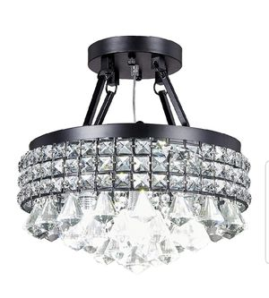 Chrystal chandelier light fixture for Sale in Santa Ana, CA