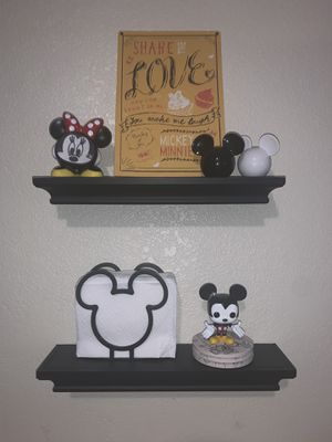 Small Black Wall Shelves for Sale in Los Angeles, CA