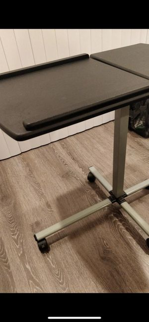 Adjustable desk table - middle height, easily movable for Sale in Los Altos, CA