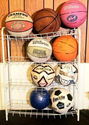 Multi Sports Ball Lot for Sale in Cadillac, MI