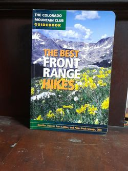 The Best Front Range Hikes (Colorado) for Sale in Quitman,  GA