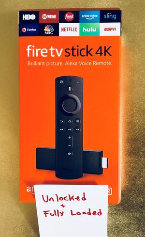 Fire TV Stick with everything and more. Message for details. Pickup In Elizabeth today or have it shipped for Sale in Elizabeth, NJ