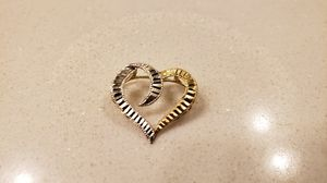 10K Yellow White Gold Charm for Sale in Rocklin, CA