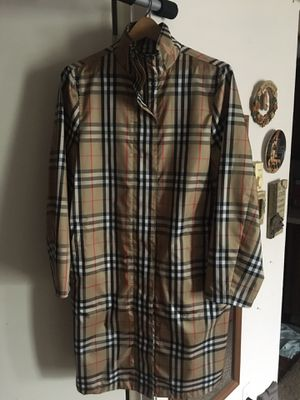 Authentic burberry jacket nova check for Sale in San Diego, CA