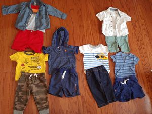 Used, A bundle of baby clothes. Variety of sizes 3-6 -6-9 12-18 months. Brands such as calvin klein, gap, carters, target for Sale for sale  Canton, GA
